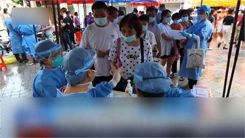 中國本土疫情擴散8省 55確診44無症狀