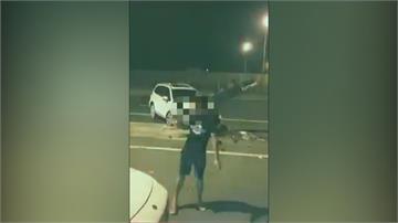 離譜!目睹國道車禍 不報警先跳舞拍影片