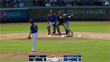 MLB/達比修有熱身賽首度亮相!第一球就被轟出牆外