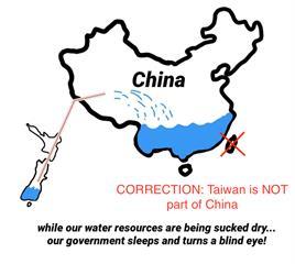 「台灣不是中國的一部分!」 紐西蘭獨立媒體為誤植地圖致歉