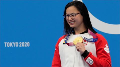 東奧/女子100米蝶式 加拿大華裔泳將奪金55秒59創史上第3快