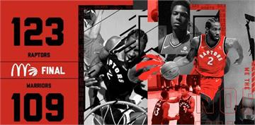 NBA決賽/暴龍兩勝領先勇士 林書豪創華裔球員上場紀錄