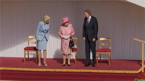 拜登與女王茶敘 大讚親切 想起自己母親