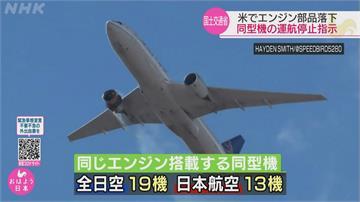 快新聞/美聯航波音777客機引擎故障 日本下令國內相同機型停飛