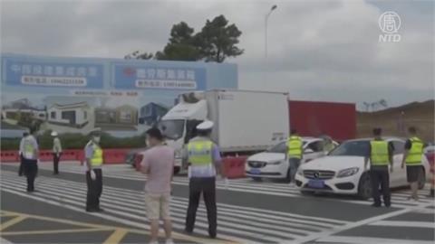 上海旅行團疫情延燒中國7省市 北京豐台區半封城