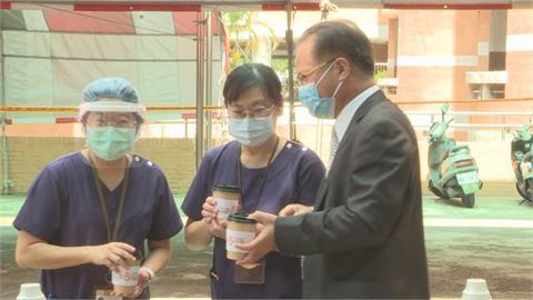 防疫咖啡挺醫護 中油及企業、學校產學合作