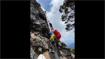 聖稜線「素密達斷崖」架鐵梯 山友批如「鯊魚劍」