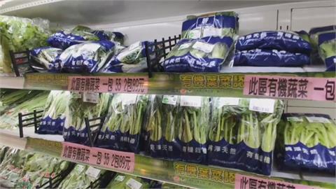 大雨青菜產量減價揚  青江菜漲幅超過5倍
