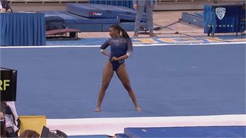UCLA體操隊員隨興秀 驚奇身手獲百萬點閱