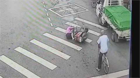 車主下車關心倒地阿嬤 竟被警認定肇事逃逸