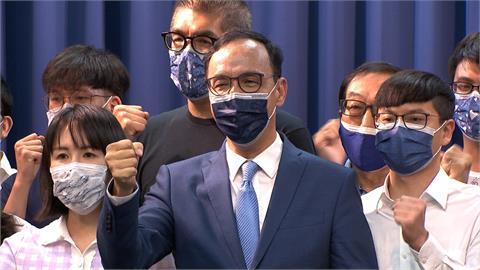 朱回鍋藍黨魁 史上唯一得票未過半被評慘勝
