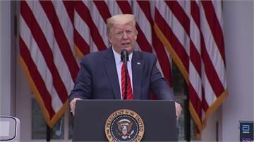 「去問中國!」川普、記者舌戰 不高興秒下台