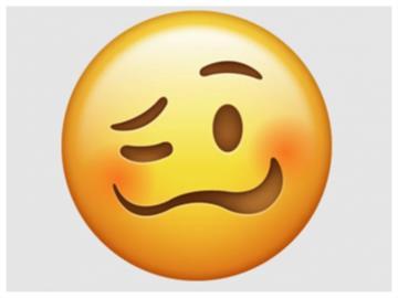 表情符號「眼歪嘴斜」竟涉歧視?英國口吃協會已向蘋果公司投訴