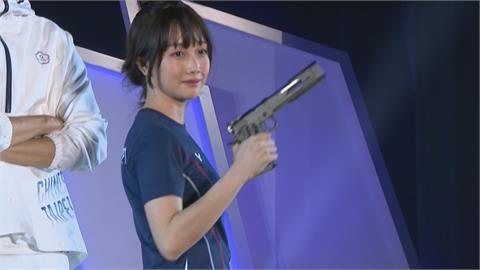 吳佳穎外型實力兼具 射擊「證件妹」再拚奧運