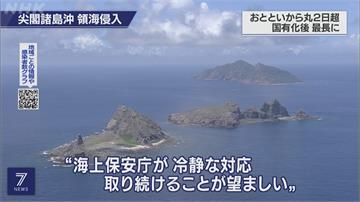 中國海警船逗留釣魚台 日本:將守護領土!
