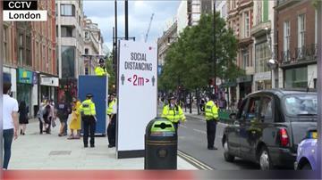 全球/英國疫情捲土重來 升級版社交禁令民轟太荒謬