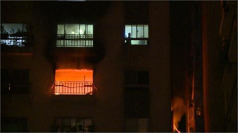 新北土城社區大樓深夜火警 住戶暗夜驚魂
