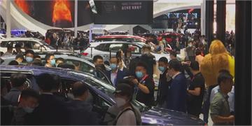 北京車展揭幕 中國車可以飛上天