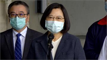 蔡總統證實將援助日本口罩 安倍推特感謝「日台一起加油」