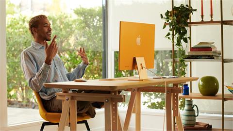 3C/為什麼可以這麼美啊?蘋果推出全新 iMac 帶來強大 M1 晶片及超薄多採配色