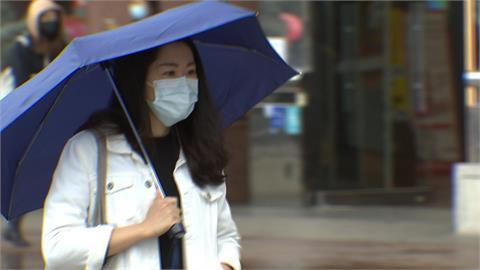 快新聞/南部下雨了! 高雄屏東大雷雨特報 持續到16:15
