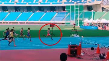 全台跑最快國中生!14歲魏浩倫百米10秒65