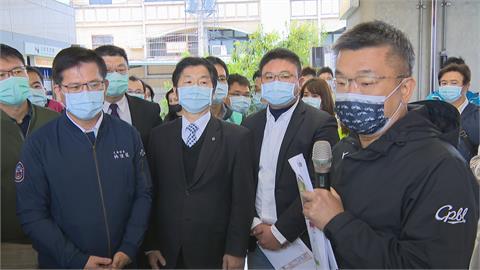 林佳龍、蔡其昌、盧秀燕同日視察中捷 台中市長選戰提早開打?
