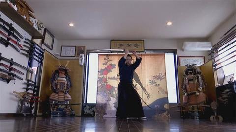 等不到東奧外國客 日本「武樂」線上推廣武士文化