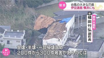 法西颱風重創千葉!19萬戶仍無電可用