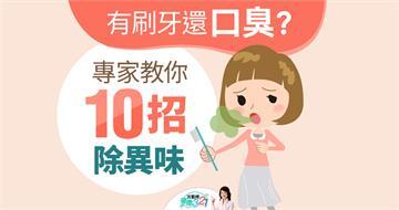 有刷牙還口臭?小心是生病前兆!醫師教你10招,消除嘴巴臭