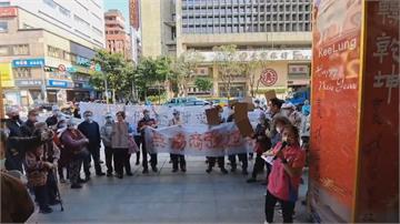 基隆「富貴市場」鑑定為海砂屋  攤商抗議:求生存盼緩拆