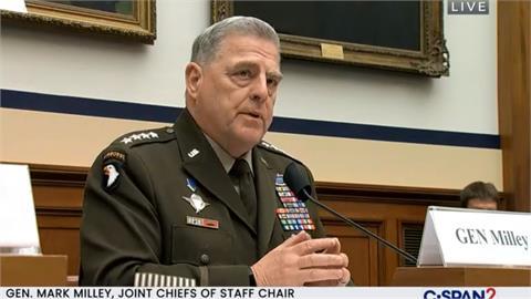 「中國2年內不會武力犯台」美軍參謀首長:弊大於利