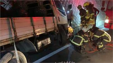 快新聞/台東濱海公路貨車對撞釀3傷1命危 台11線塞車逾半小時