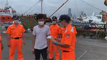再闖台灣海域絕不寬待!中漁船越界捕魚 海巡扣船押回全驅離