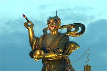 16米魁星神像在雲林 「三獻圓醮」法會謝神庇佑