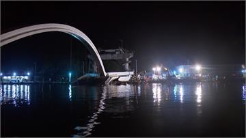 南方澳斷橋持續搜救 交通部擬開水道讓漁船通行