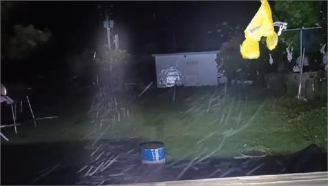 快新聞/中颱璨樹狂風豪雨炸蘭嶼 當地颳17級強風吹掀屋頂、上千戶停電