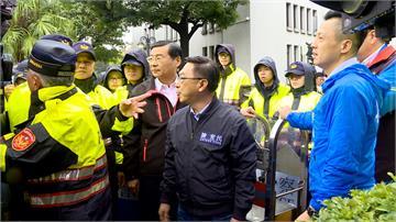 藍委陳宜民動粗又強推女警下樓!將依妨害公務罪函送