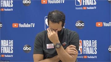 熱火無緣NBA冠軍!總教練賽後失落掉淚
