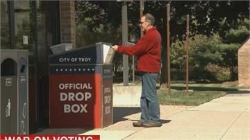 郵寄投票困難重重!每郡只留1票箱民眾想寄選票得開上兩小時