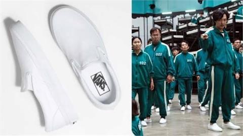 《魷魚遊戲》暴紅!劇中「經典款小白鞋」銷量狂漲7800%