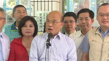 「港區國安法」要求台灣交涉港資料 蘇貞昌回嗆:不當幫兇