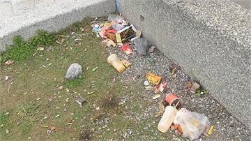 春節過後花蓮海岸垃圾積如山! 每日載運上百噸垃圾到宜蘭焚燒
