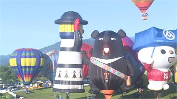 台東熱氣球嘉年華登場 24顆繽紛升空歷年最多