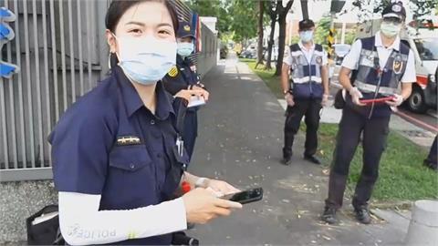 驚險!通緝犯撞警大街追逐 女警大膽用槍