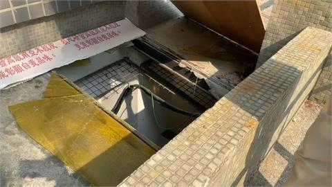 8歲童屏東地政所玩耍踩破採光罩   失足慘墜3米深地下室停車場