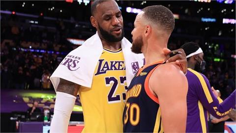 NBA/詹皇「致勝三分」氣走勇士 湖人贏得附加賽晉級第7種子