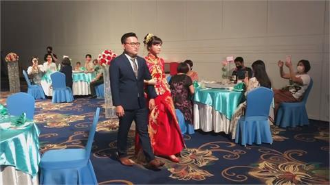 防疫婚宴舉辦看這裡!一桌只坐5人 新郎、新娘也隔1.5公尺
