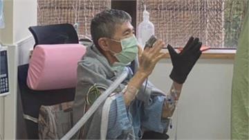 蔡啟芳換肺手術後又住院  蘇揆探望當風紀股長