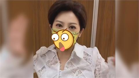 王彩樺跳公雞舞!黃色口罩7大字超吸睛 網友瘋問:哪裡買?